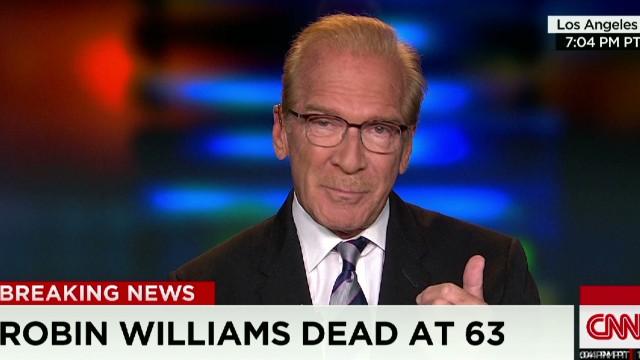 cnn tonight pat o'brien on robin williams _00002111.jpg