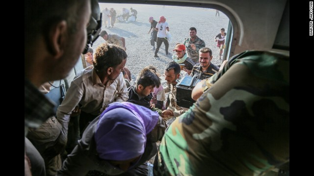 Refugees risk all to escape ISIS