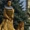 Blood Countess Slovakia statue