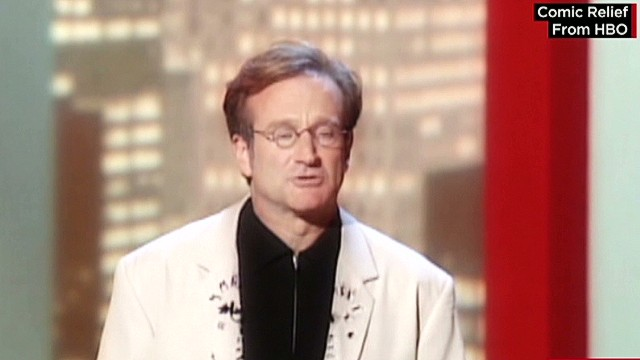 Comic Relief founder remembers Williams