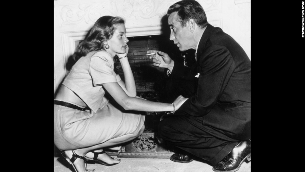 "Bogart and Bacall married in 1945, had two children and continued to make films together, including ""The Big Sleep"" (1946), ""Dark Passage"" (1947) and ""Key Largo"" (1948)."