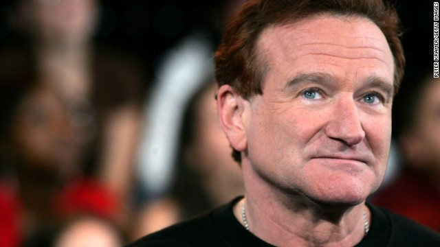 NEW YORK - APRIL 27:  (FILE PHOTO) (US TABLOIDS OUT) Actor Robin Williams appears onstage during MTV's Total Request Live at the MTV Times Square Studios on April 27, 2006 in New York City. It was announced on August 9, 2006 that Williams is seeking treatment for alcoholism after being sober for 20 years.  (Photo by Peter Kramer/Getty Images)