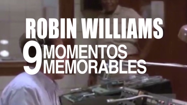 Robin Williams: 9 momentos memorables