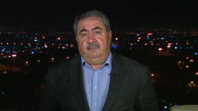 Iraq Foreign Minister Fred Pleitgen ISIS Kurdistan Hoshyar Zebari ISIS_00023614.jpg