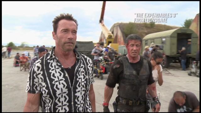 Arnold Schwarzenegger on Expendables 3_00001816.jpg