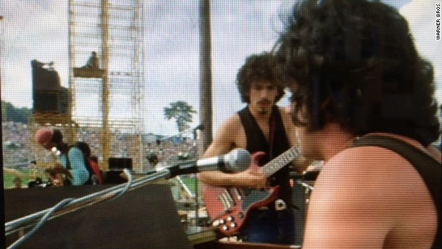 Santana's debut album was released the same month as Woodstock, catapulting the then-unknown band to fame.