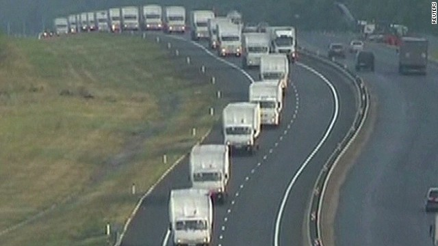 Ukraine suspicious of Russian convoy