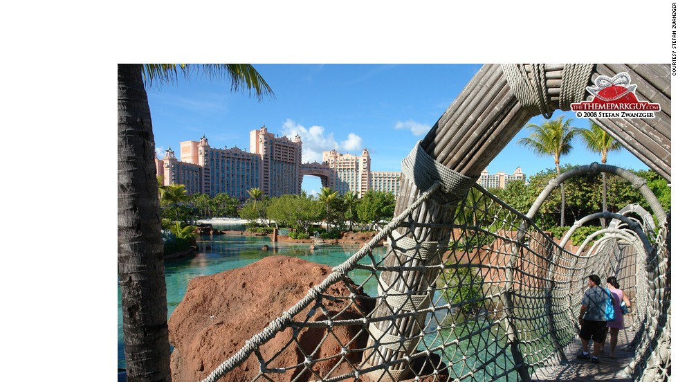 Beach? Theme park? Beach? For those who can't decide, Atlantis Paradise Island in the Bahamas has both.
