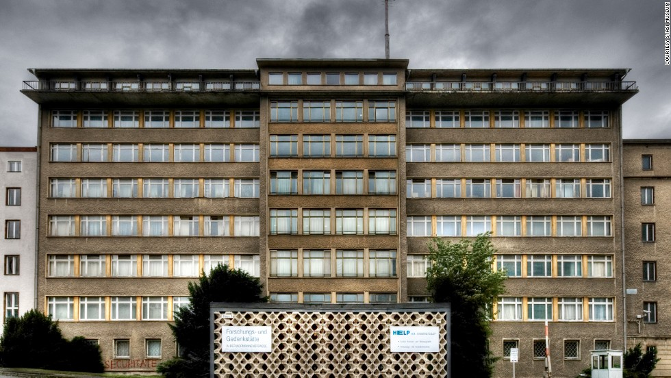 "Berlin's Stasi Museum is housed in the former headquarters of East Germany's Ministry of State Security, once known as the ""House of One Thousand Eyes."""
