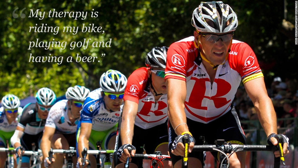 armstrong on therapy