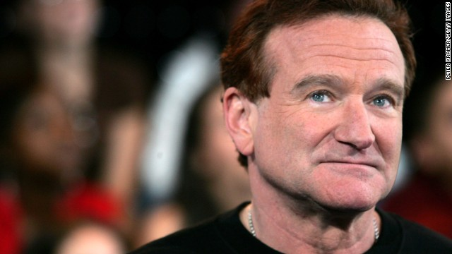 Caption:NEW YORK - APRIL 27: (FILE PHOTO) (US TABLOIDS OUT) Actor Robin Williams appears onstage during MTV's Total Request Live at the MTV Times Square Studios on April 27, 2006 in New York City.