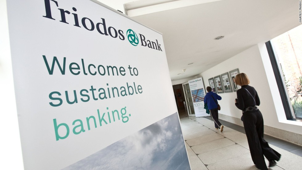 Triodos Bank claims to be 100% transparent. It even publishes a list of the companies it lends to so that consumers are aware of where their money is going.