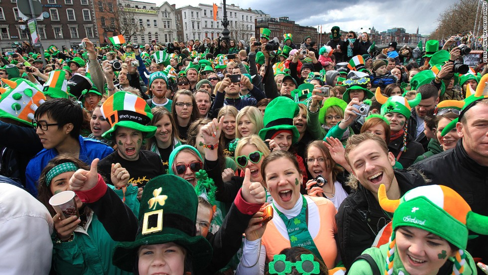 Any excuse for a party. Dublin scores joint fifth place (with Sydney) in the Conde Nast Traveler list of friendliest cities.