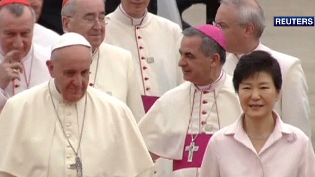 South Korea welcomes Pope Francis