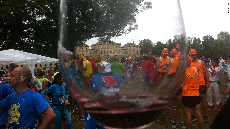 "The run is nicknamed ""the longest marathon in the world,"" in reference to the many wines on offer to sidetrack runners. Average times are far slower than usual marathons, but no one seems to care."