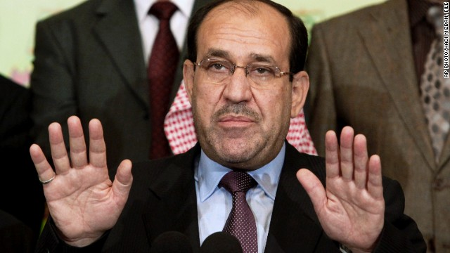 Nuri al-Maliki withdraws his candidacy