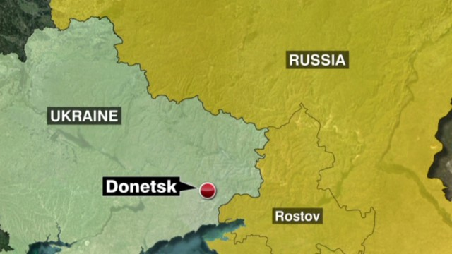 Russian military convoy enters Ukraine