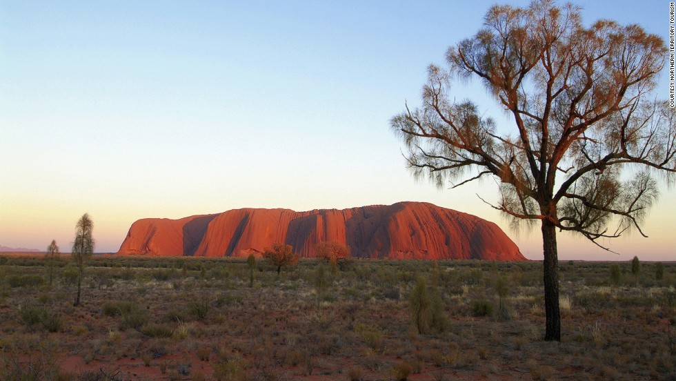 <strong>Outback helicopter tour (Australia)</strong>: A whistle-stop helicopter tour might be an easier way of seeing the outback sites if an Aboriginal-style walkabout isn't quite your style.