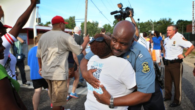 Ferguson, Missouri, State Highway Patrol Capt. Ron Johnson was tapped to restore order in the restive St. Louis suburb.