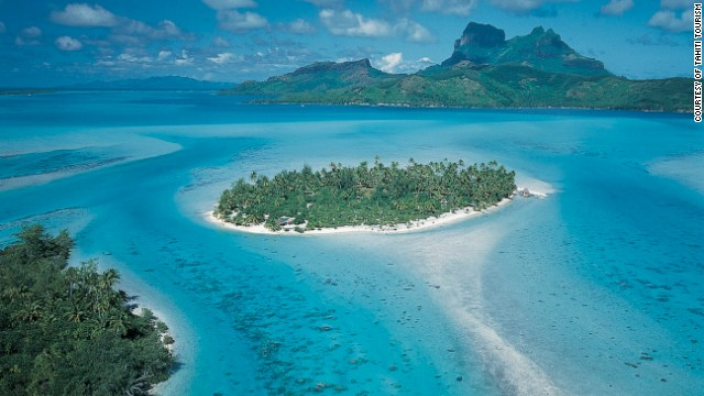 When in pursuit of romantic surroundings, it can only be Bora Bora.