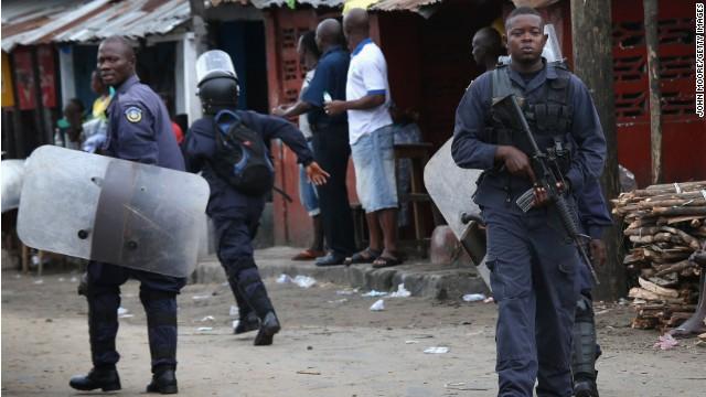 Ebola facility attacked; patients flee