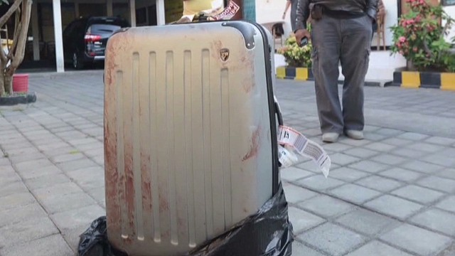 Motive for Bali suitcase murder unknown