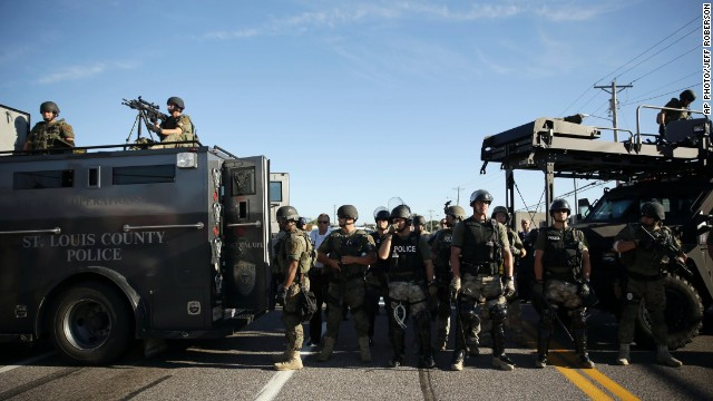 Militarizing the police force