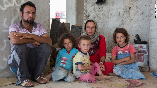 Yazidis fear ISIS may capture more territory in northern Iraq and they will be trapped.
