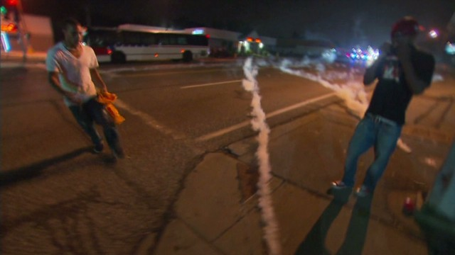 Stunning images of unrest in Ferguson