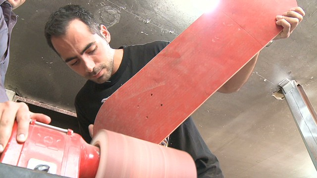 Iran's passion for skateboarding