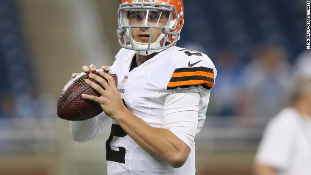 Cleveland Browns cut Johnny Manziel