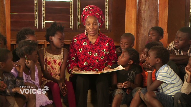 'African hut library' transforms learning