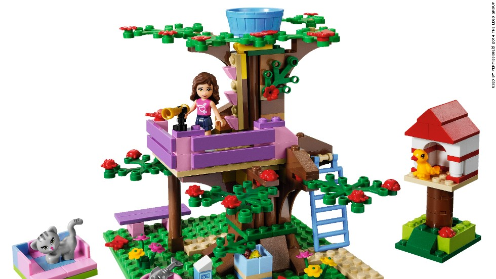 But the previous Lego sets targeted at girls lacked professional female characters.