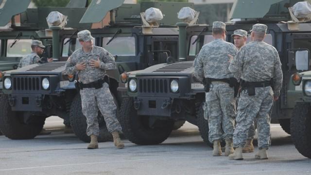 The National Guard & civil unrest