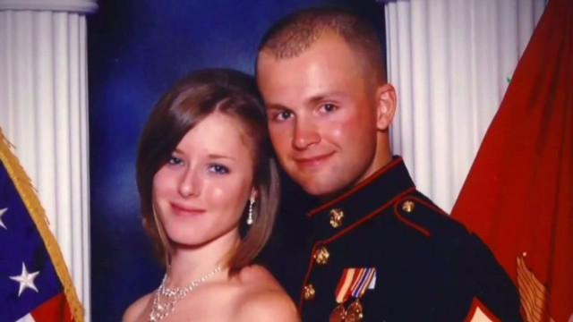 Body of Marine's pregnant wife found