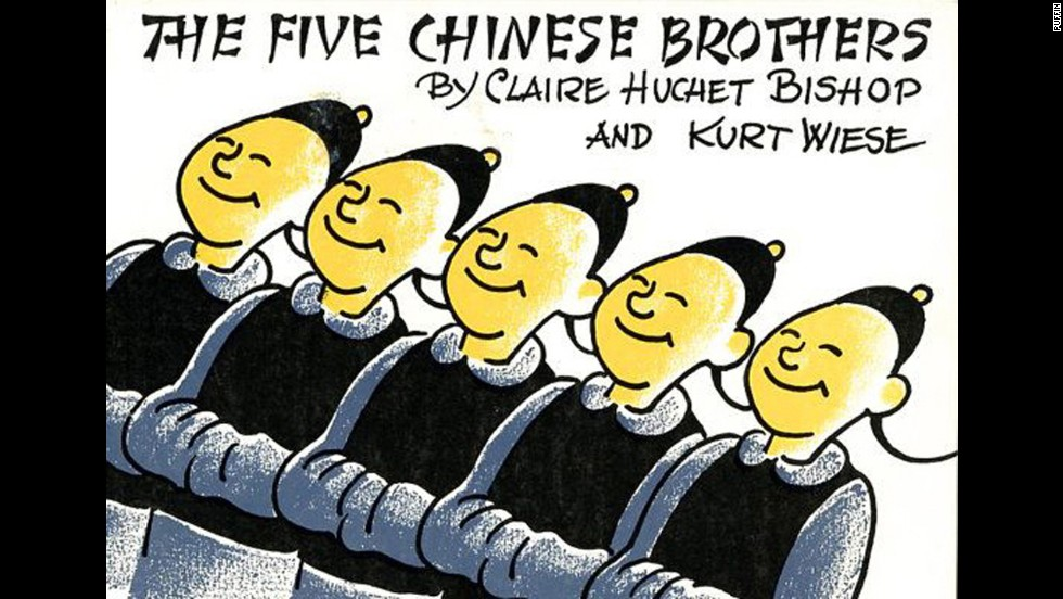 """The Five Chinese Brothers,"" by Claire Huchet Bishop. ""I was just learning to read. I took it out of the library all the time. The librarian told me I should ask my parents to buy it for me!"" — Charlene Sandone Weaver"