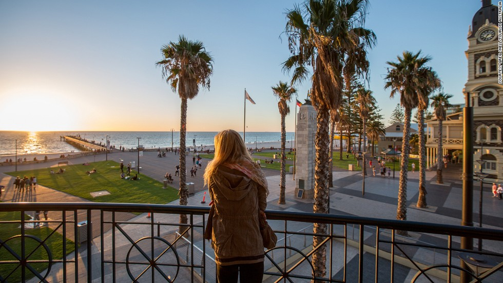 Parks, beaches and vineyards are a few of the main attractions in Adelaide, the world's fifth most liveable city.