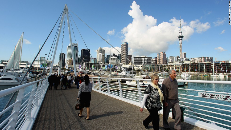 Auckland's laid-back culture lands the city at number 10 on the Economic Intelligence Unit's 2014 list of the world's most liveable cities. In fact, half of the top 10 are located in the southern hemisphere.