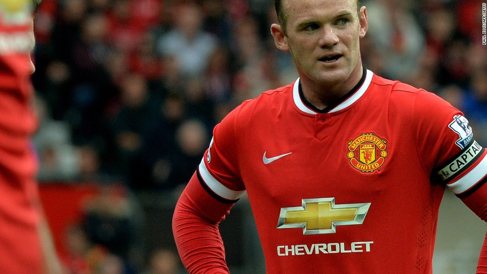 Star player Wayne Rooney sports the new Chevrolet branded strip but defeat in United's EPL opener against Swansea left a bitter taste.