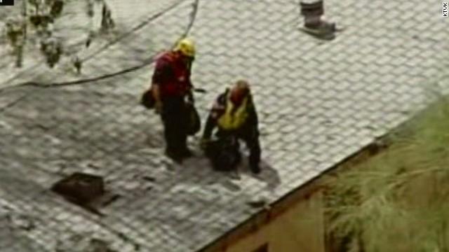 Flash flood traps Phoenix residents