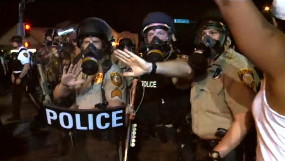 DOJ: Ferguson police targets African-Americans