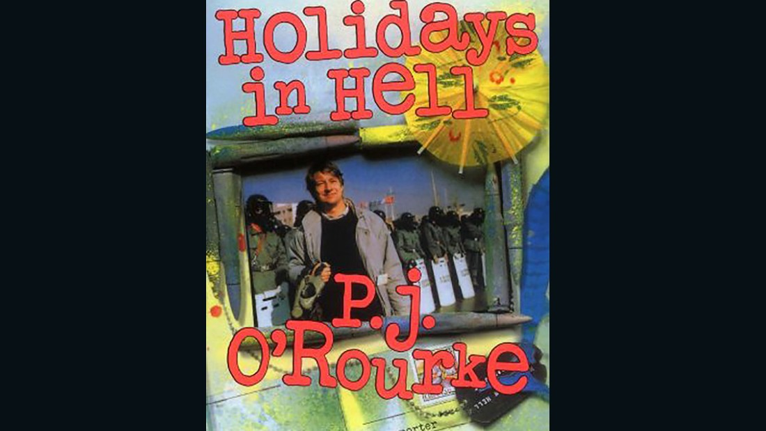"""Instead of cathedrals, mosques and ancient temples, we have duty-free shops ... I never knew there was so much stuff I didn't want."" -- <em>Holidays in Hell</em>, P.J. O'Rourke"