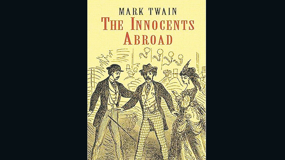 """If you wish to inflict a heartless and malignant punishment upon a young person, pledge him to keep a journal for a year."" -- <em>The Innocents Abroad</em>, Mark Twain"