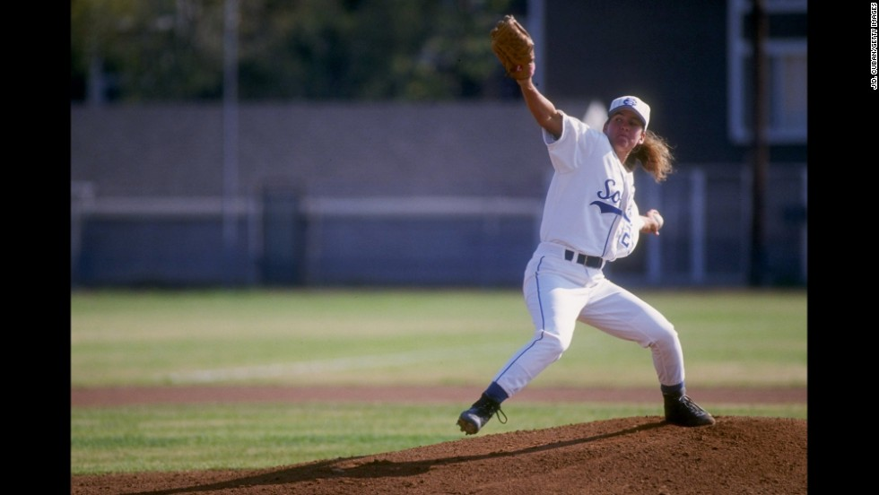In 1997, baseball player Ila Borders became the first woman to pitch in a regular-season professional game, for the St. Paul Saints.