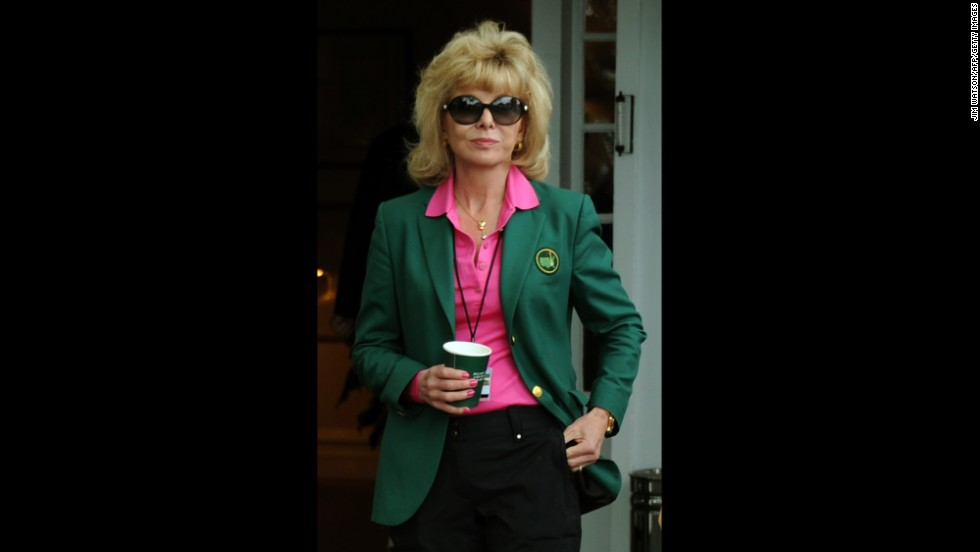 Darla Moore, a South Carolina business executive, was granted membership to Augusta National Golf Club along with Rice.