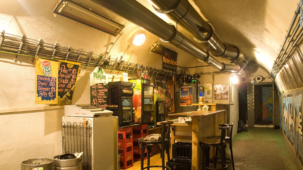 Now a thriving club, art gallery, bar and live music venue in Prague, Parukarka used to be a nuclear bunker and has one strange stipulation. Should Armageddon break out, the club must be converted back to its original purpose within 48 hours.