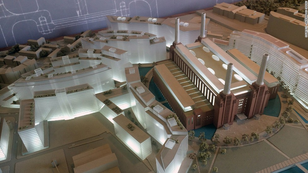 Construction, based on models like this one, is due to be completed by 2020.