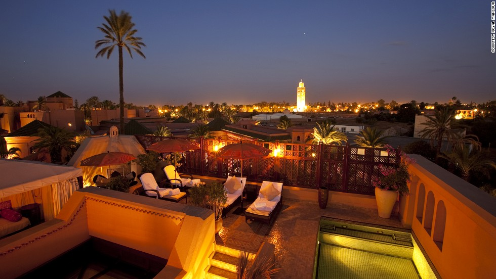 "<strong>Royal Mansour: </strong>At Royal Mansour you can watch the buzzing ""Red City"" from a private terrace with plunge pool."