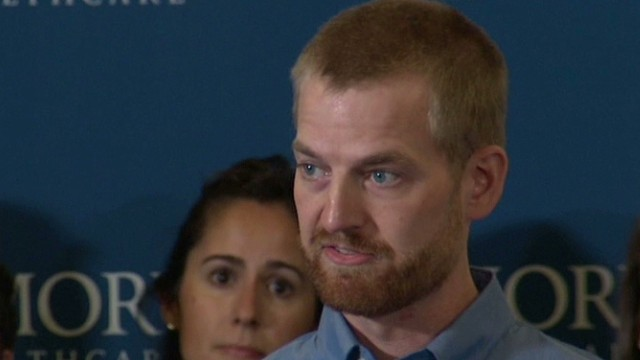 Brantly: 'I am thrilled to be alive'