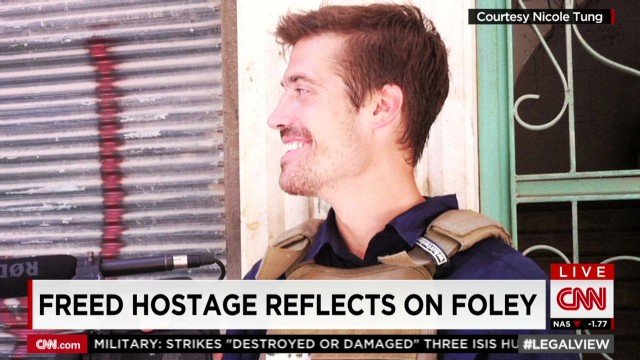 Freed hostage reflects on Foley